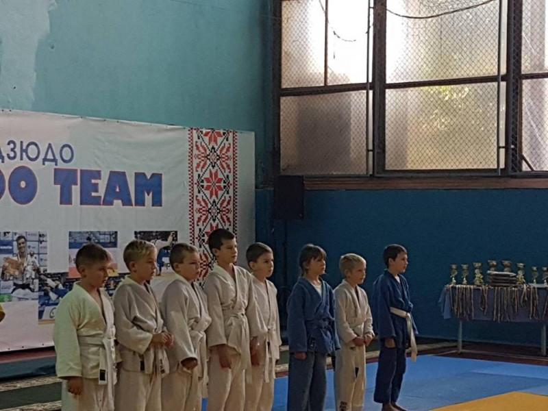 Юні дзюдоїсти взяли участь у Міжнародному турнірі