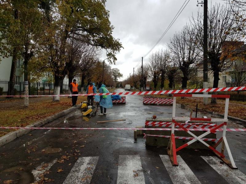 У Ківерцях встановили «лежачий поліцейський»