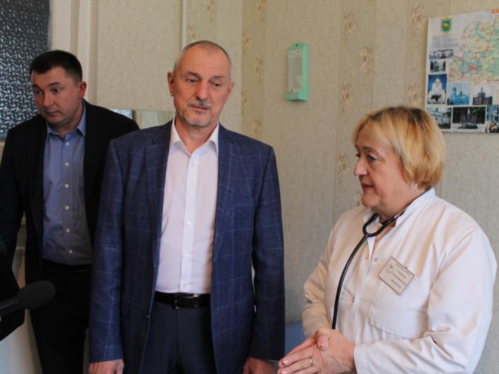Голова Волинської ОДА Олександр Савченко відвідав село Тростянець
