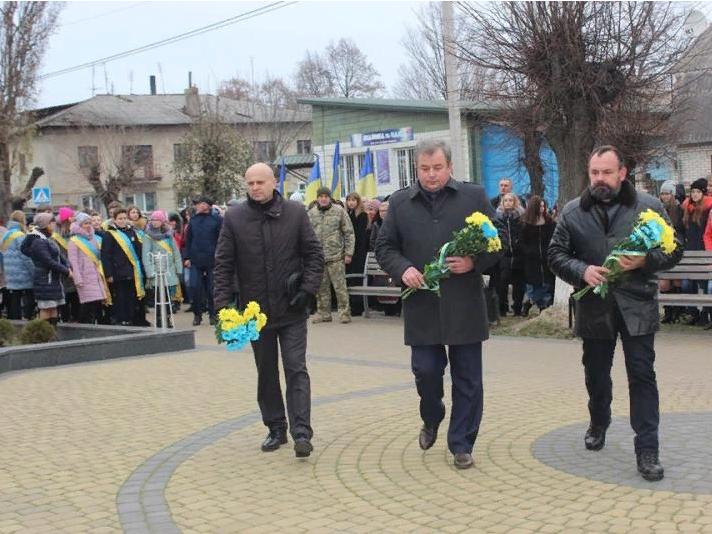 У Ківерцях відбулися урочистості до Дня Гідності і Свободи.
