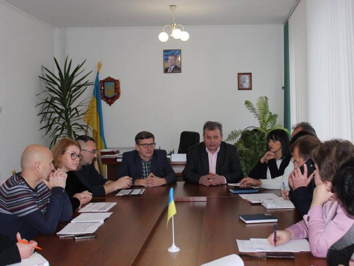 У Ківерцях обговорили передачу бюджетних установ до ОТГ
