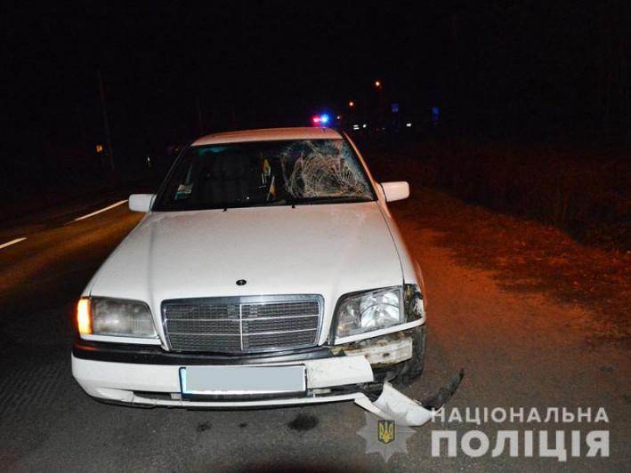 Сокиричі: зіткнулися дві автівки, загинув пішохід