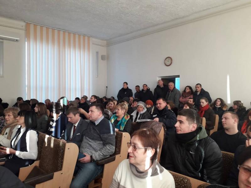 Засідання Ківерцівської районної ради