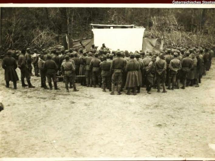 Фронтовий театр на Ківерцівщині 100 років тому