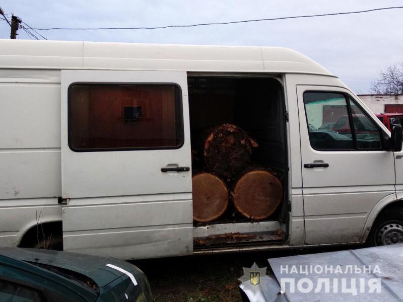 На Ківерцівщині затримали крадіїв лісу