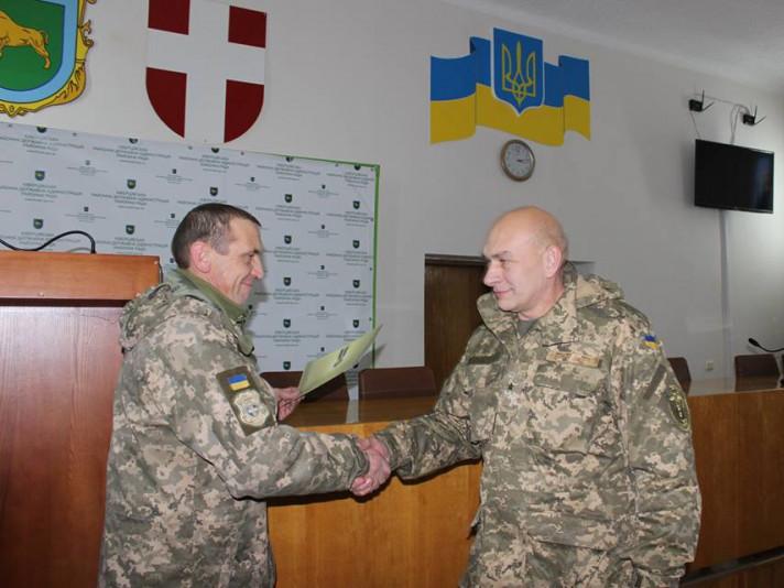 З нагоди Дня Збройних сил України в РДА відбулася церемонія вручення державних нагород військовослужбовцям району