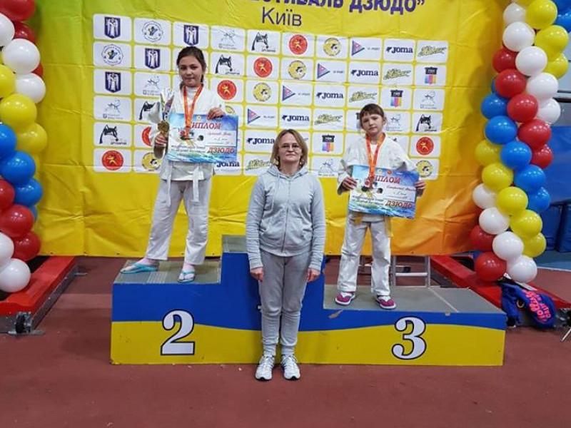 Юні ківерцівські дзюдоїстки виступили на турнірі у Києві