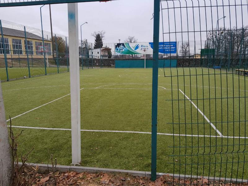 У Ківерцях відремонтували спортивний майданчик, який неодноразово нищили вандали