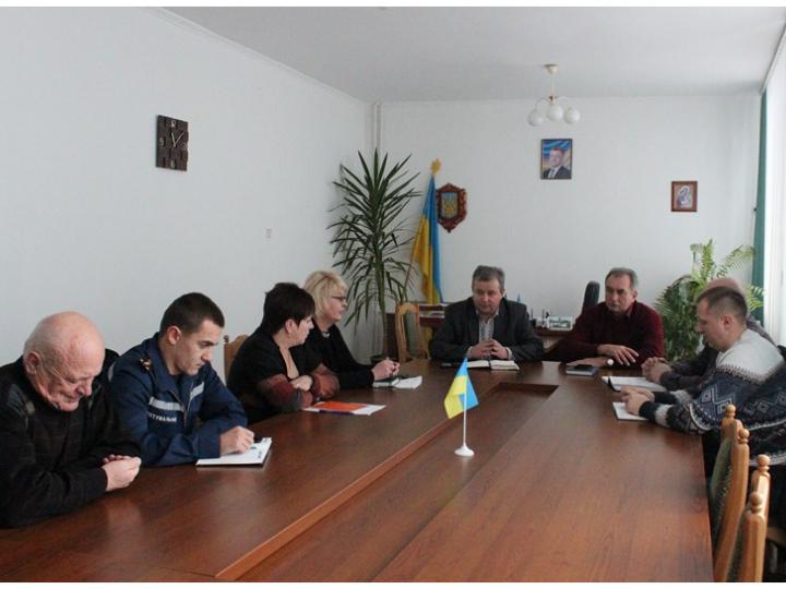 Через негоду у Ківерцях відбулося засідання оперативного штабу