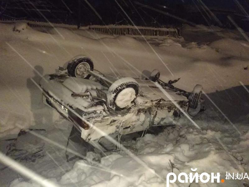 Аварія в селі Дерно на Ківерцівщині