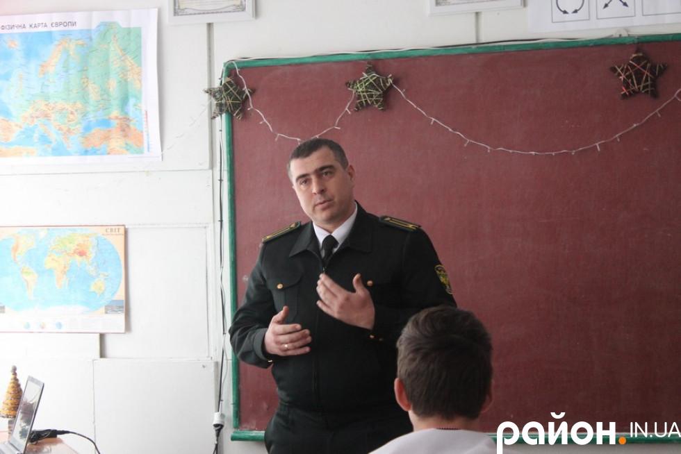 Інженер охорони захисту лісу Віталій Вронський
