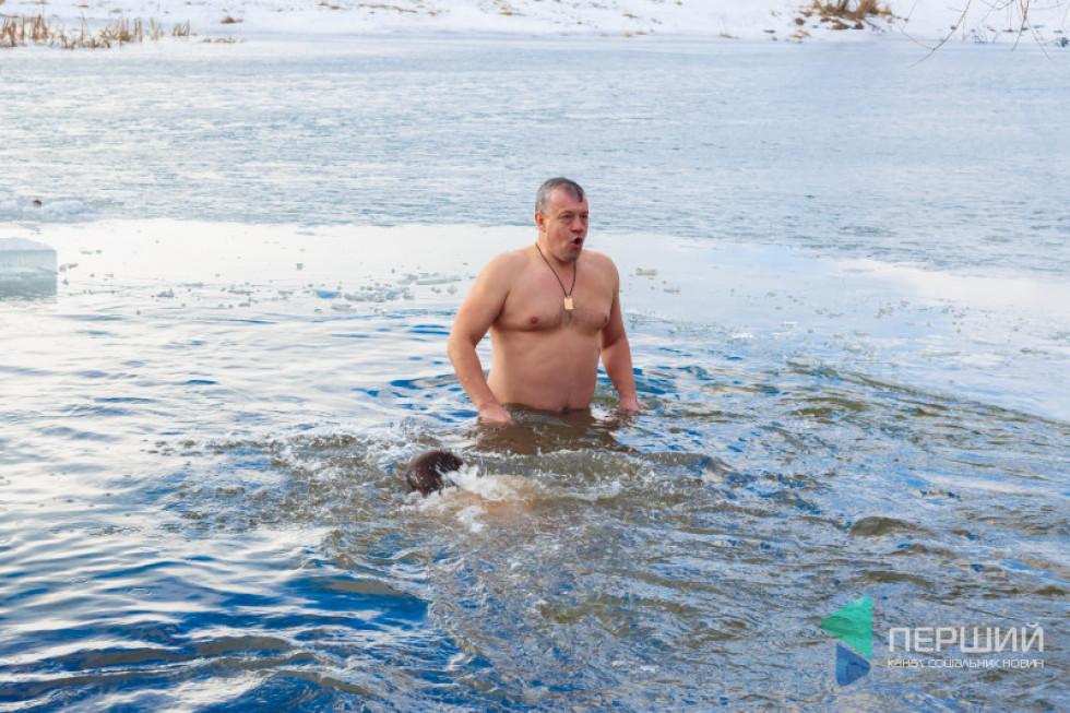 Ігор Муковоз у жидичинській воді