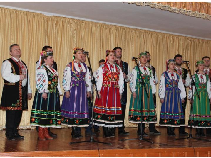 У Ківерцях відбувся святковий концерт до 100-річчя Соборності України