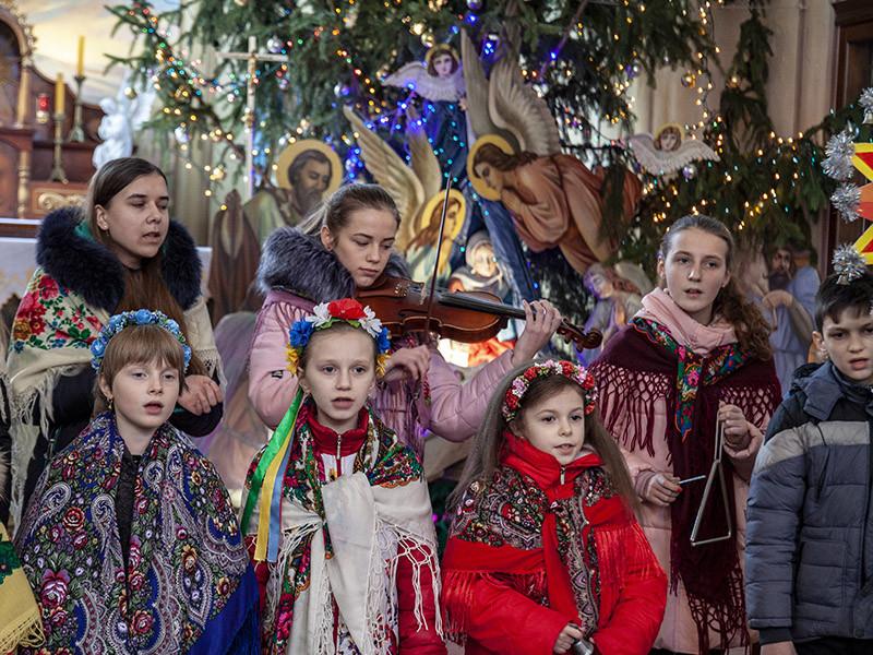 У Ківерцях тиждень молитви за єдність завершився різдвяним концертом