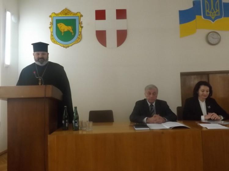 Ківерцівський протоієрей на сесії закликав вірян до єдності та любові до рідної держави