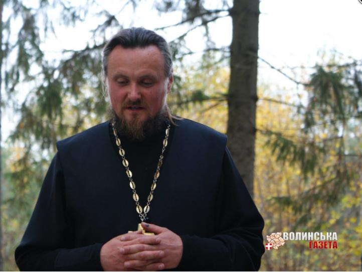 Настоятель храму у селі протоіреєрей Василь Щур