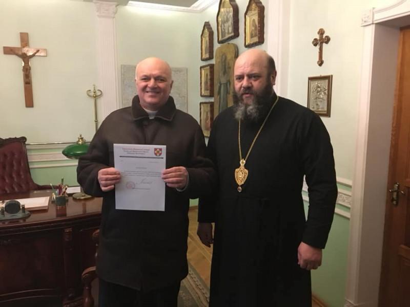 Релігійну громаду села Кульчин прийняли до Православної церкви України