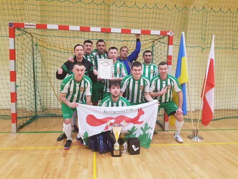 Ківерцівські футболісти вдруге стали володарем кубку в Польщі