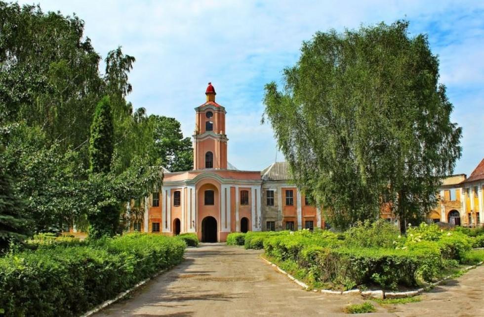 Замок Радзивіллів, Олика