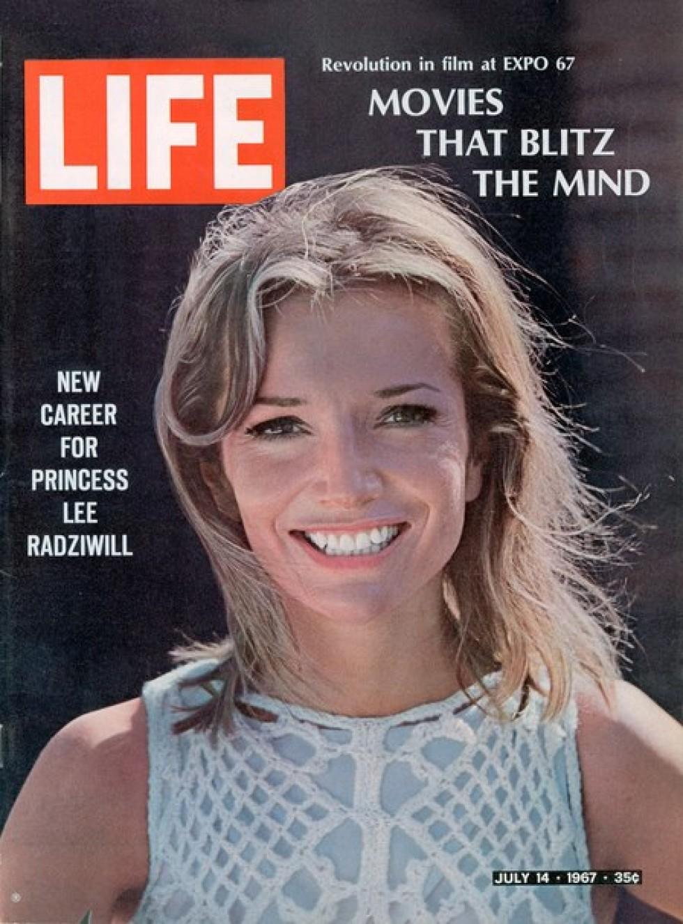 Лі Був'є на обкладинці американського журналу «LIFE»