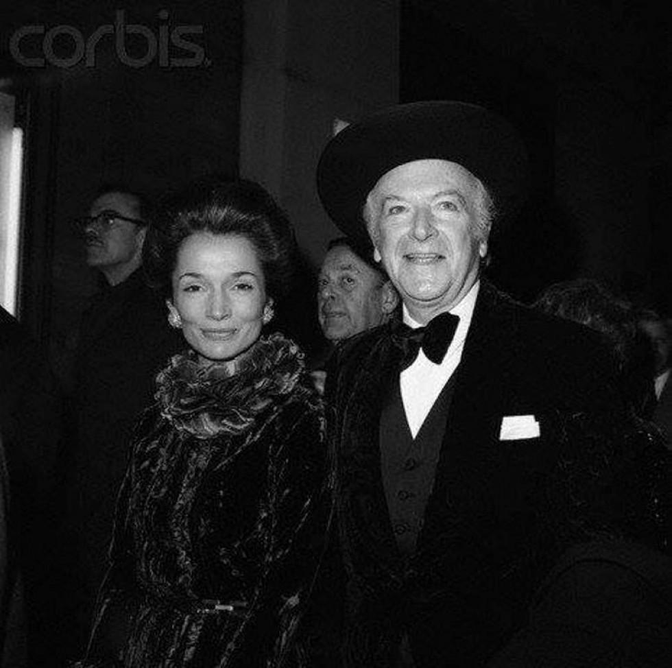 Станіслав Радзівілл разом з дружиною Лі Був'є