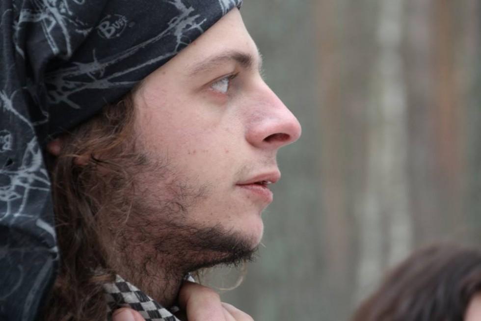 Волонтер Андрій Плига