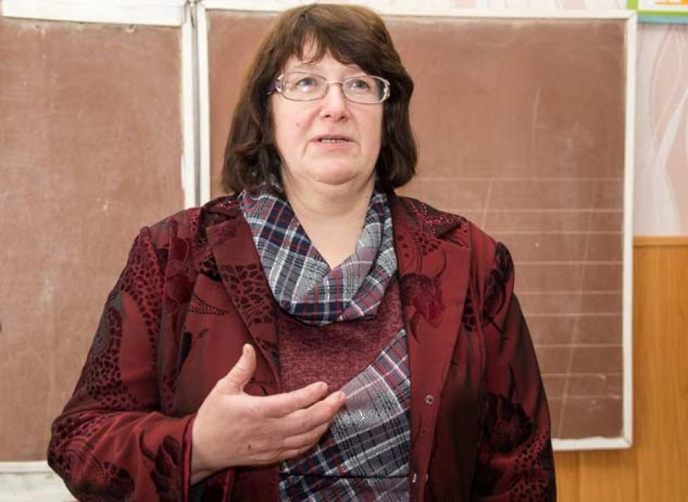 Ольга Марківна пригадує розповіді старожилів...