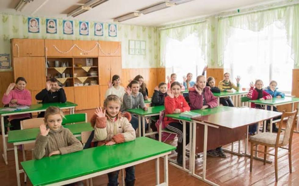 Знамирівські школярі у Холоневичівській школі не ображені.