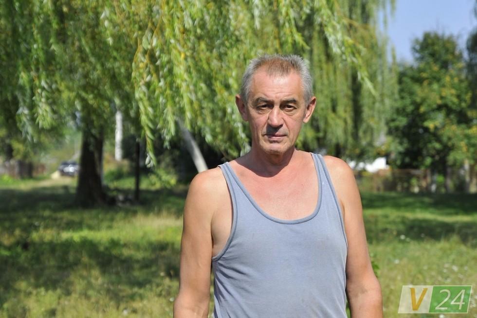 Ігор Іваніцький перебрався з міста - кинув курити!