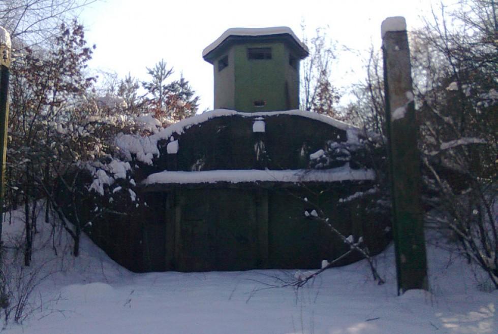 Обвалована споруда для Р-12 з вогневою точкою, Сокиричі