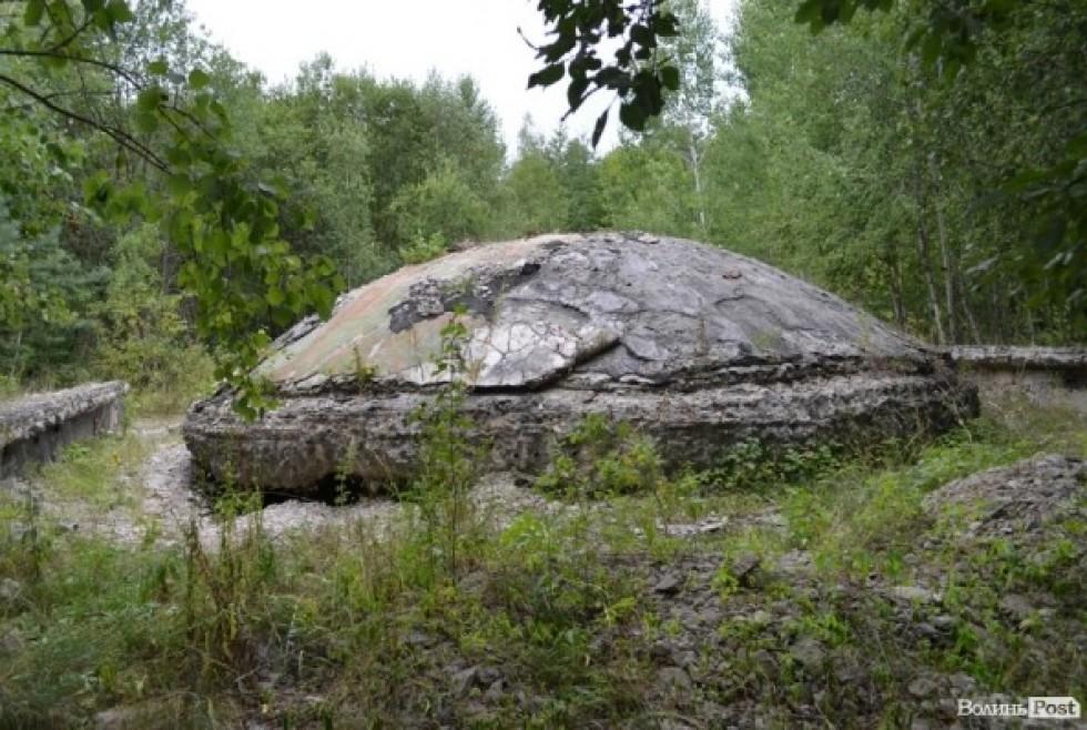 Купол над шахтою, Війниця, 2012