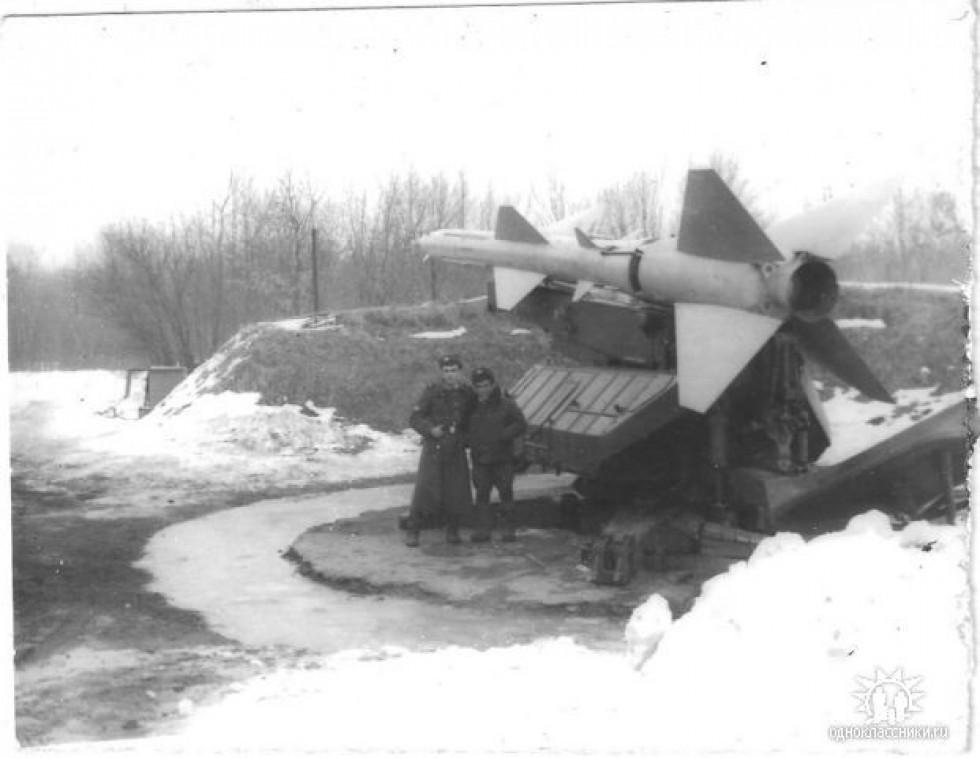 Зенітна ракета С-75 на позиції під Ковелем