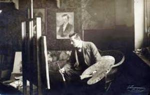 Другий чоловік Габріелі Запольської – Станіслав Яновський за роботою