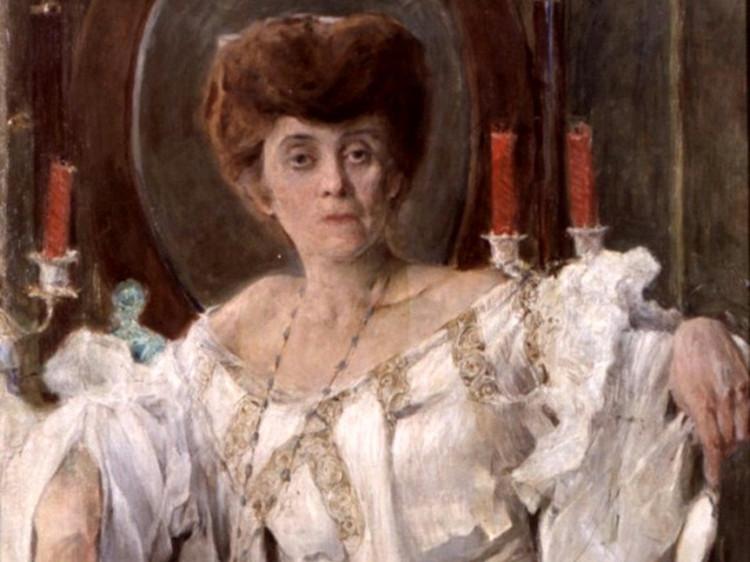 «Портрет Габріелі Запольської», 1903 рік. Автор – Станіслав Яновський.
