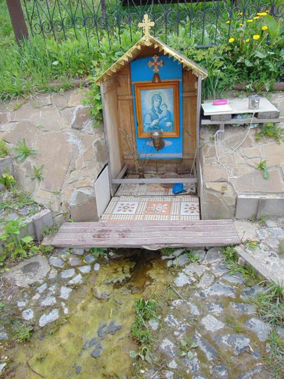 Джерело в селі Жидичин «Святий Дух»