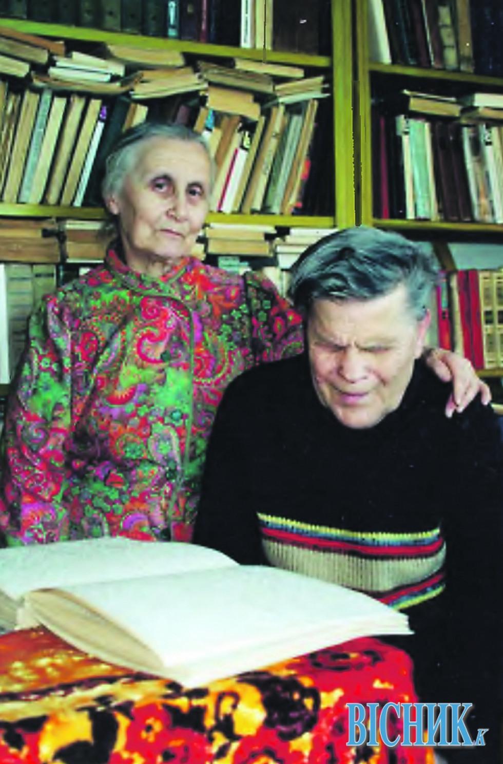 Галина ДЖУЛАЙ з чоловіком Олексієм