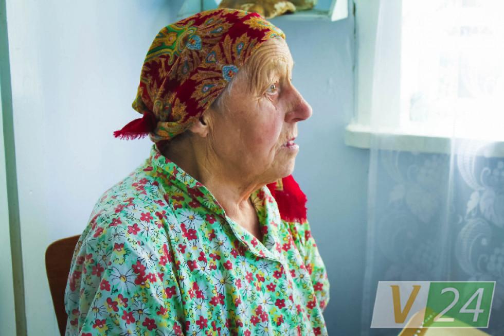 80-літня баба Віра: ''Я не чешка. Я - словачка»