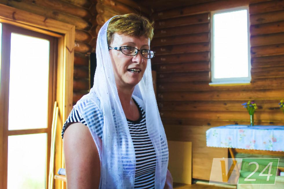 Галина Яблонська - одна з тих, хто в Липлянах найлегший на підйом!