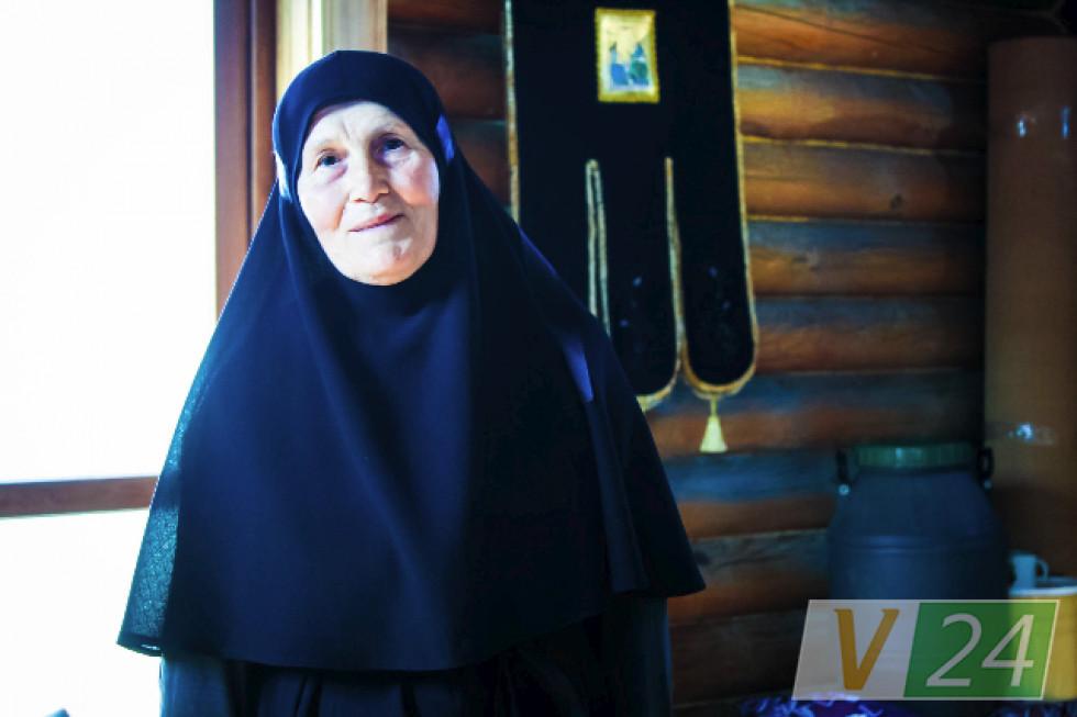 Матушка Ліда. Щодня в роботі і в молитві...