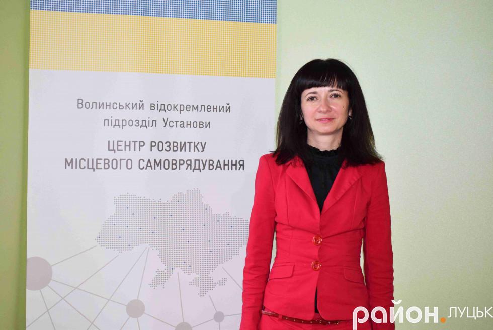 Оксана Урбан експертка із децентралізації