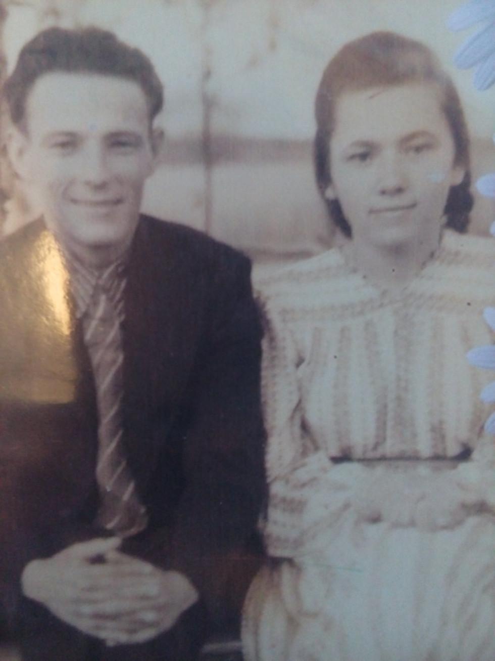 Пані Марія з чоловіком Петром