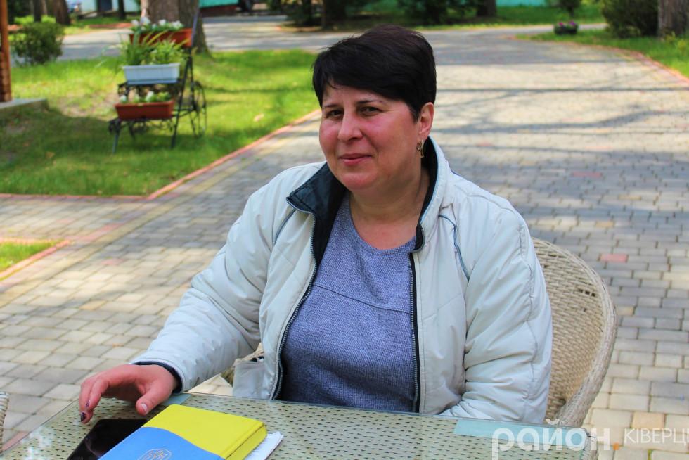 Наталія Мельник похизувалася виконаною роботою