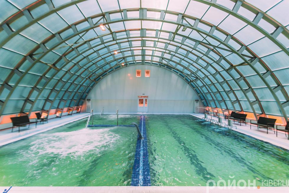 Залишкові гроші витратили на будівництво термально басейну