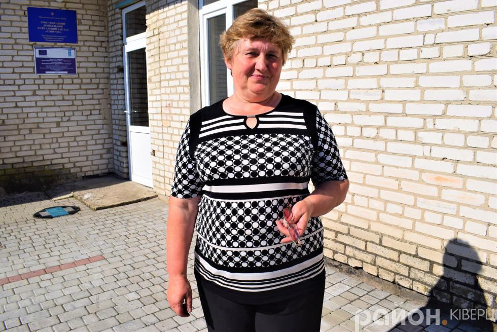 Директорка «Сонечка» Лідія Демчук