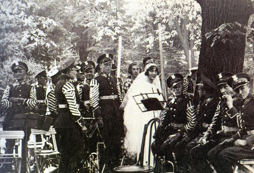 Шлюб сина Едмунда Радзивілла, 1934 рік