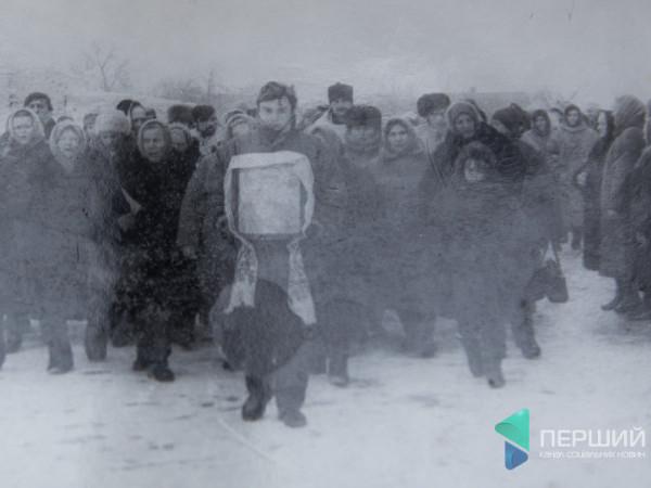 Зима 1994-го. Мешканці села Жидичин на службі просто неба