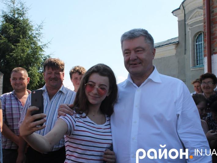 Петро Порошенко у Жидичині