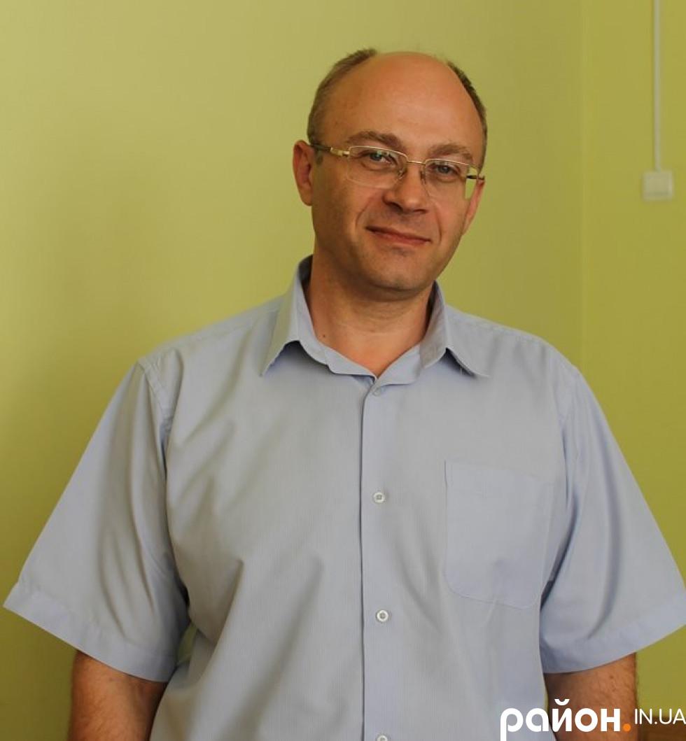 Лікар-інфекціоніст Руслан Морочковський