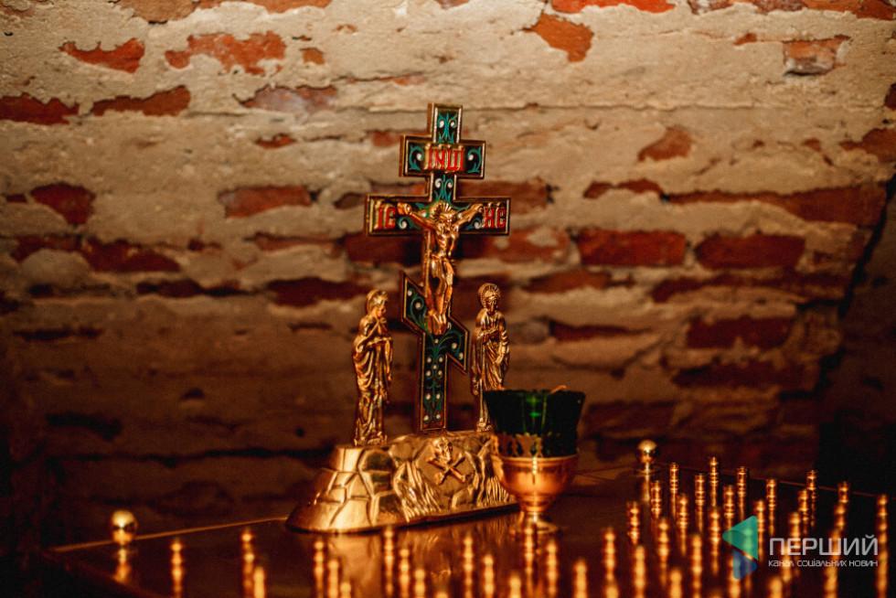 У крипті під жидичинським храмом