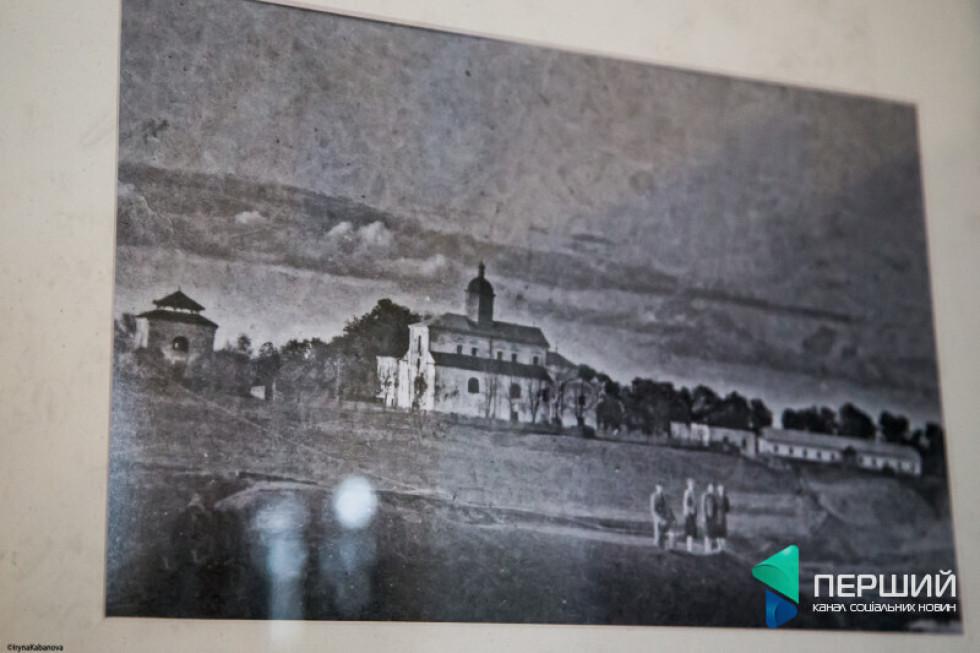 Фото з варшавських архівів. Таким був монастир у Жидичині
